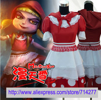 annie costumes - Custom Cheap Little Red Riding Hood Annie cosplay costume from LOL Cosplay Costume
