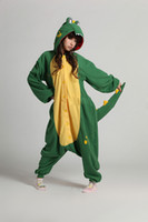 Wholesale High quality New Fashion Woman Pajamas Adult Cosplay Animal Warm Cartoon Crocodile Costume Onesies Japan Pajamas with hoddies