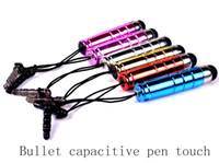 apple ipad orders - Capacitive Retractable pen Touch For IPAD IPHONE Tablet PC with retail package accept mix color order