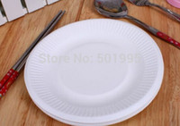 bagasse - of quot Disposable bagasse paper plate cm oil proof barbecue disposable paper plate