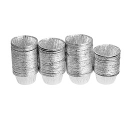 Wholesale Disposable Aluminum Foil Baking Cookie Muffin Cupcake Egg Tart Mold Round
