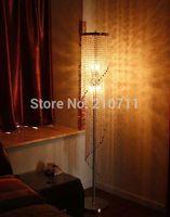 Wholesale hot sale modern home decoration living room bedroom k9 crystal floor lamp standard lamp