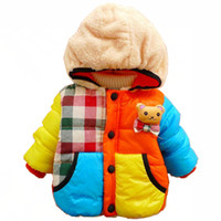 baby product jackets - Warm Baby Boys Cartoon Jacket Coat Children Boys Casual Windproof Padded Outerwear With Hoodies New Winter Baby Product