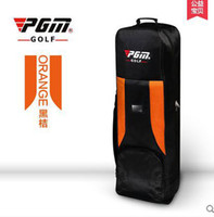 big golf bags - PGM Golf thicker air bag with wheel Big containing space and flexible application to save space water proof easier carried