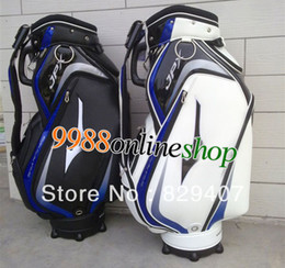 Wholesale HOT NEW JPX golf cart bag inch black quot or quot White color clubs bag golf accessories