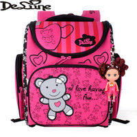 big portfolio - Delune Brand Orthopedic sac a dos enfant School Bag Books Child Children Backpack Portfolio Big Capacity Bags for Children