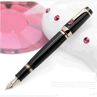 Cheap Wholesale-Free Shipping Articulos De Papeleria MB Writing Black Fountain Pens Inkless Luxury Caneta Tinteiro Pena Fountain Pens China