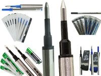 Wholesale RollerBall Pen Refill or MM Screw or Smooth Tip BLUE or BLACK to choose refill for Roller ball