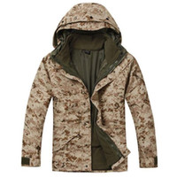 acu digital jacket - Military winter ACU DIGITAL CAMO parka ACU PARKA wateproof jacket