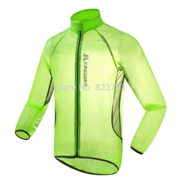 Promotion vélo vélo veste de manteau de pluie Coupe-vent imperméable Randonnée Veste Manteau de pluie Camping Bike vélos Vêtements de pluie pour la randonnée / vélo / Escalade / Pêche (CW-01)