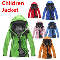 hunting clothes - New Children Camping amp Hiking Jacket Fleece Inside Hunting Clothes Pieces Boy amp Girl amp Student Winter Outdoor Jackets