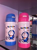 Wholesale The newborn baby bottles stainless steel for newborns belt straw milk feeding bottles for babies ml
