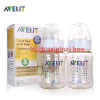 Wholesale pieces Original Classic avent PES feeding bottles baby feeding bottle milk bottles oz ml oz ml Brand New