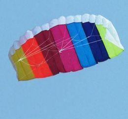1.4 m 2 Line Stunt Parafoil POWER Sport Kite