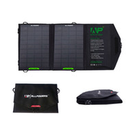 Wholesale ALLPOWERS W Foldable Solar Charger Outdoor Portable Solar Panel Charger for iPhone S Tablets Samsung S4 S3 HTC