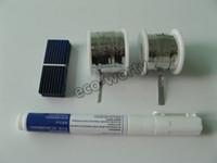 Оптовая-40 шт 52x19mm клетка поли солнечный кристаллическая панель солнечных батарей DIY Kit значение пакет с 50'tab провод + провод + 6'bus потока пера * `#
