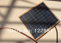 battery diode - HOT SALE Watt W Solar Panel Solar Cell Watt Volt Garden Fountain Pond Battery Charger Diode