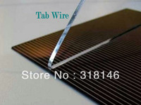 pv solar panel - Tab Wire feet meter mm for solar panel DIY solar charger PV Solar Ribbon Solder strip Tin plated copper