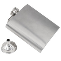 alcohol gift boxes - Gift UK Stainless Steel Hip Liquor Whiskey Alcohol Pocket Flask Gift Box Funnel