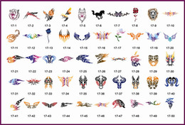 Wholesale Golden Phoenix Temporay Airbrush Stencil Book Beauty Tattoo Designs Stencil For Body Paint