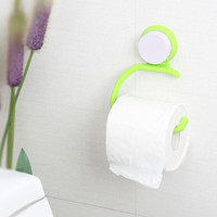 bathroom paper cup holder - Suction Cup Base Kitchen Bathroom Towel Roll Paper Hanging Holder Rack H100678