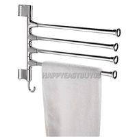 bathroom r - H3 R Stainless Bathroom Kitchen Towel Polished Rack Holder Hardware Accessory