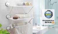 bathroom towel shelves - Creative Home Double deck double rod bathroom kitchen shelves towel rack Washcloth Shelf kitchen racks zf117