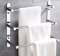 Wholesale cm Length Stainless Steel Towel Ladder Towel Rack Multifunctional Towel Bars For Family Bathroom Towel Rack