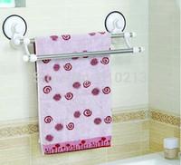 bath wall shelf - Towel Shelf Racks Bathroom Sucker accessories Bath Home Wall Hooks Hangers YS46