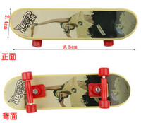 Wholesale Random style Tech Decks Finger Skateboards Trucks techdeck Loose mini longboard finger scooter kids toys