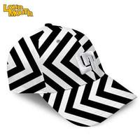 Wholesale new men hit the color stripe cotton adjustable cap golf tennis sports fashion Visors