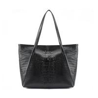 designer crocodile handbags - Designer Tote High Quality Crocodile Handbag Shoulder Bag Woman Bags Alligator Women Handbags Big Capacity Bag Bolsas Mujer