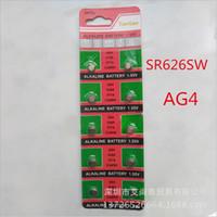 Wholesale AG4 LR66 SR66 LR626 SR626 CX86W SODA Cell Button Batteries Alkaline men ladies childre watches asdffas123