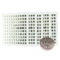 Wholesale x V AG10 Battery AG LR54 SR54 SR1130W SB BU L1130 LR1130 Watch Clock Cell Button Batteries