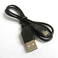 Wholesale Hot swappable cable USB Type A Male to Mini B pin Male USB Cable USB Cord for MP3 Player Cables