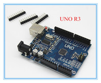 Wholesale high quality UNO R3 ATMEGA328P AU CH340 CH340G for Arduino UNO R3 NO USB CABLE