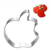 apple cookie cutter - Apple Cookie Cutter Metal cutter Fruit cutter Mold for cake