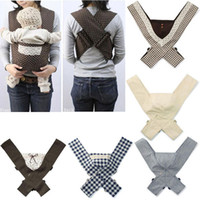 Wholesale New Fashion Cotton Baby Sling Backpacks adjustable top grade baby suspenders washable X Style colors baby strap wrap