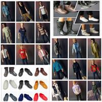 Wholesale NEW Arrival Fashionable KEN Clothes and Shoes Suits For Boyfriend Ken Dolls Denim Clothing Set Clothes suits Shoes
