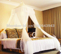 adult bedroom decor - BALI RESORT Style Bed Canopy Mosquito Net Beds Canapy Bug Fly Bee Netting Mesh Bedroom Curtains Decor DREAMMA