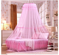 Wholesale Mosquito Nets Curtain for Bedding Set Colors Princess Bed Canopy Bed Netting Tent Mosquiteiros De Teto Magic Mesh