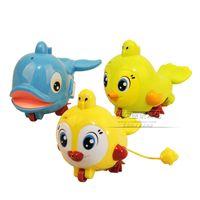 bath shower spray - Spray water backguy amphibious pound animal shower bath toys infant baby toy