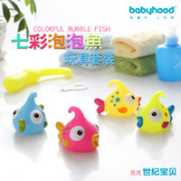 bathtubs for toddlers - Kids Bath Toys Set Colorfule Bubble Fish Water spraying Tool in the Bathtub for Bathing Toddler Fishing Toys