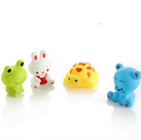 baby tub shower - set Baby floating sqeeze sound toys bathing squirt toy tub shower toys