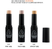 Cheap Wholesale-100% Guaranteed Korean Shimmer Stick Face Slimm Brand 3CE Stylenanda Makeup Shimmer Stick Face Neck Makeup Highlighter