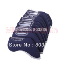 Wholesale Golf Iron Head Nylon Cover Case Navy