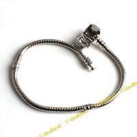 Unisex brass fitting - 10pcs Hot Sale Snake Chain Bracelets Fit Charms Jewelry cm Fashion Hot Sale