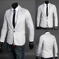 supreme clothing - New Korean Slim small Suit Jacket Mens Men clothing supreme style one button