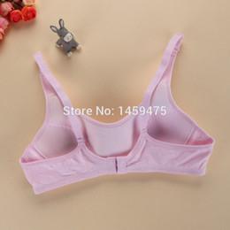 Wholesale New comfortable girls bra High Quality child bras health kids lingerie beautiful children underwear