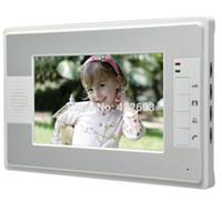Wholesale Inch TFT Video Door phone DoorBell Intercom System Kit Waterproof IR Camera